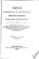 Tratado de historiología e historiografía y didáctica histórica