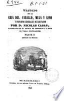Tratado de la cría del caballo, mula y asno y principios generales de equitación
