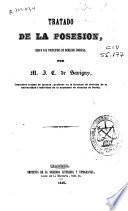 Tratado de la Posesión, según los principios de Derecho Romano