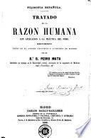 Tratado de la razón humana con aplicación a la práctica del foro