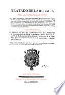 Tratado de la regalía de amortización ...