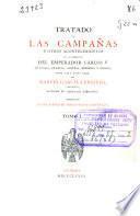 Tratado de las campañas y otros acontecimientos de los ejércitos del emperador Carlos V en Italia, Francia, Austria, Berberia y Grecia