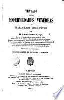 Tratado de las enfermedades venéreas y su tratamiento homeopático