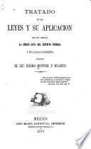 Tratado de las leyes y su aplicación