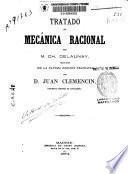 Tratado de mecánica racional