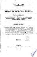 Tratado de medicina y cirugia legal