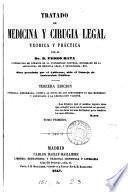Tratado de medicina y cirugía legal