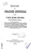 Tratado de operaciones quirúrgicas
