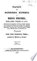 Tratado de patología externa y medicina operatoria