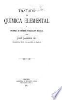 Tratado de química elemental y nociones de análisis cualitativo mineral