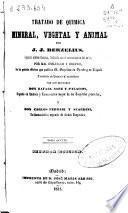 Tratado de química mineral, vegetal y animal