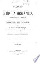 Tratado de Química Orgánica aplicada á la farmacia y de farmacología químico-orgánica