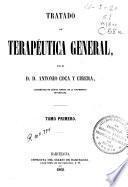 Tratado de terapéutica general