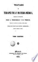 Tratado de terapeutica y materia medica, 2