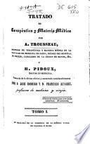 Tratado de terapéutica y materia médica