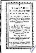 Tratado de trigonometria plana general
