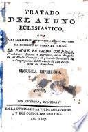 Tratado del ayuno eclesiastico