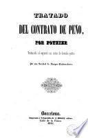 Tratado del contrato de peño