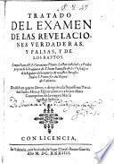 Tratado del examen de las revelaciones verdaderas y falsas y de los raptos
