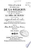Tratado del verdadero origen de la religión y sus principales épocas