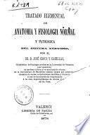 Tratado elemental de anatomía y fisiología normal y patológica del sistema nervioso