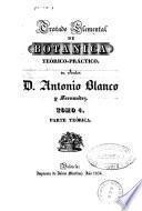 Tratado elemental de botánica teórico-práctico