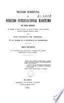Tratado elemental de derecho internacional marítimo
