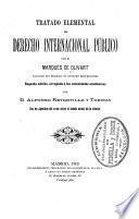 Tratado elemental de derecho internacional público