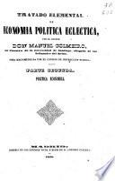 Tratado elemental de economía política ecléctica