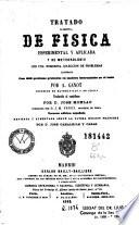 Tratado elemental de fisica esperimental y aplicada y de meteorologia