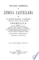 Tratado elemental de lengua castellana