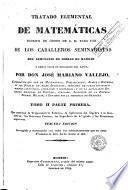Tratado elemental de matemáticas, 2 (1ra part)