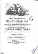 Tratado elemental de Matemáticas ...