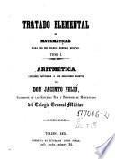 Tratado elemental de matemáticas