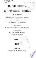 Tratado elemental de patología general y semeyología