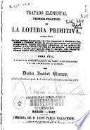 Tratado elemental teórico-práctico de la lotería primitiva