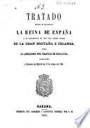 Tratado entre Su Magestad la reina de España y Su Magestad el rey del Reino unido de la Gran Bretaña e Irlanda, para la abolicion del trafico de esclavos, concluido y firmado en Madrid en 28 de junio de 1835