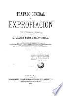 Tratado general de expropiación por utilidad pública