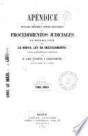 Tratado histórico, critico filosófico de los procedimientos judiciales en materia civil