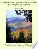 Tratado metÑdico y pràctico de Materia M_dica y de Terap_utica (Complete)