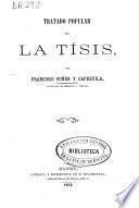 Tratado popular de la tisis