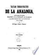 Tratado teórico-práctico de la analogia