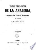 Tratado teórico-práctico de la analogía que guarda el idioma francés con el catalán así con respecto a la pronunciación como a la construcción de la frase