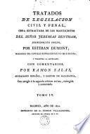 Tratados de legislación civil y penal, 4