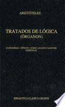 Tratados de lógica (Órganon) I