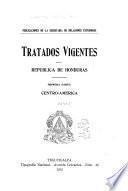 Tratados vigentes de la Republica de Honduras ...