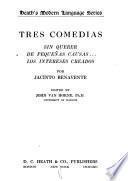 Tres comedias