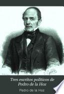 Tres escritos políticos de Pedro de la Hoz