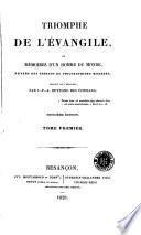 Triomphe de l'évangile, ou, Mémoires d'un homme du monde