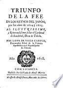 Triunfo de la Fee en los reynos del Japon 1614 - 1615